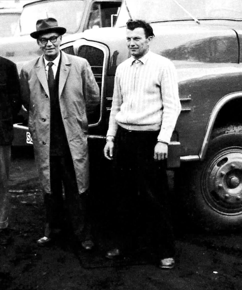 Hans_Hirschmann_Fahrer_Hans_Sandreuther_April_1960_MAN_LKW_Werk_Firmengründer_Baufirma_Treuchtlingen Kopie