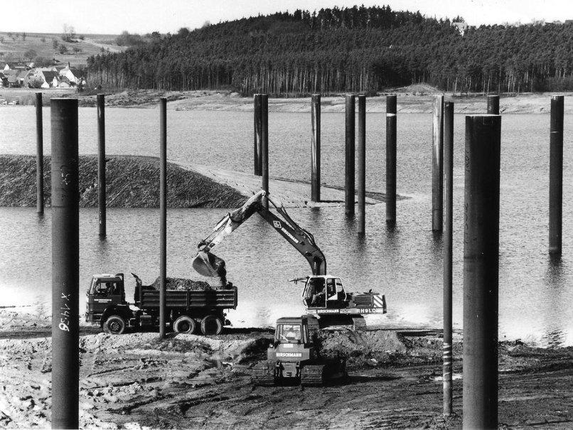 Hans Hirschmann KG - Bau der Hafenanlage am Brombachsee in Ramsberg